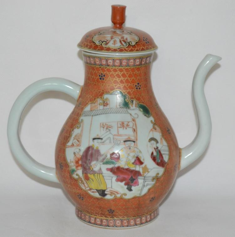Chinese Kwon-Glazed Porcelain Ewer