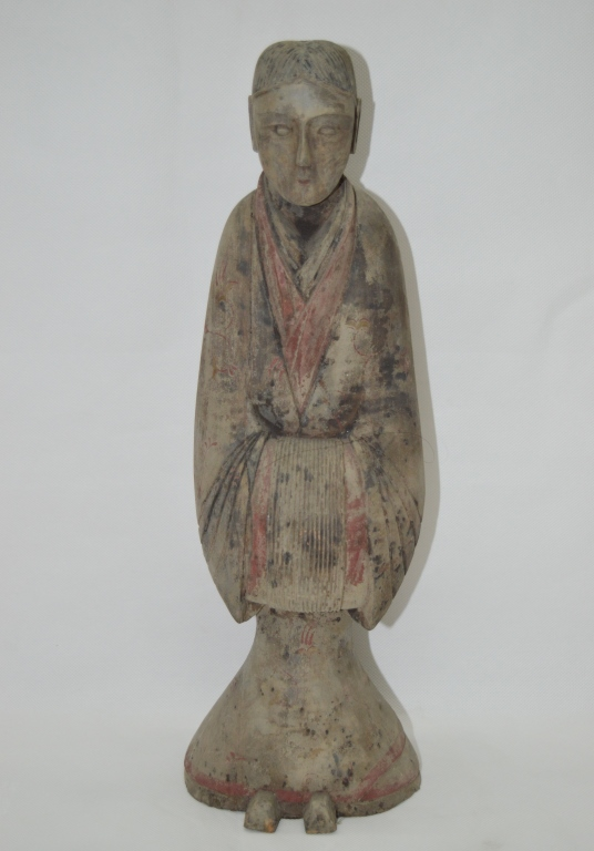 Ancient Ceramic Figure Statue