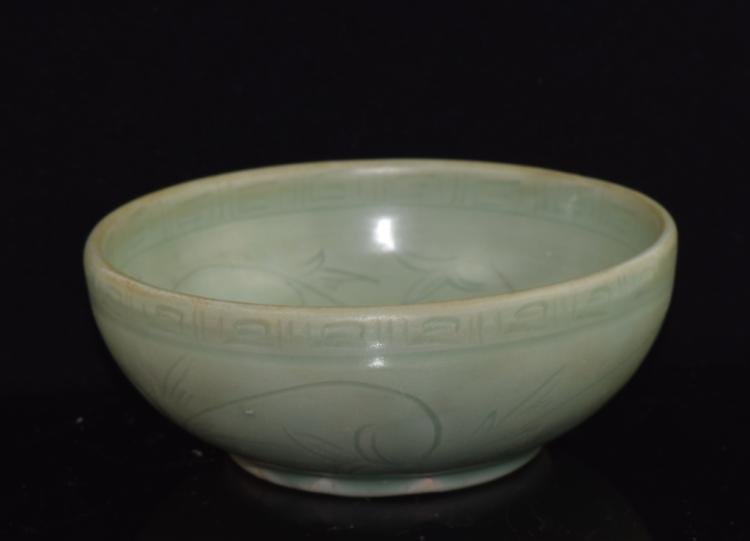 Chinese Longquan Celadon Porcelain Brush Washer