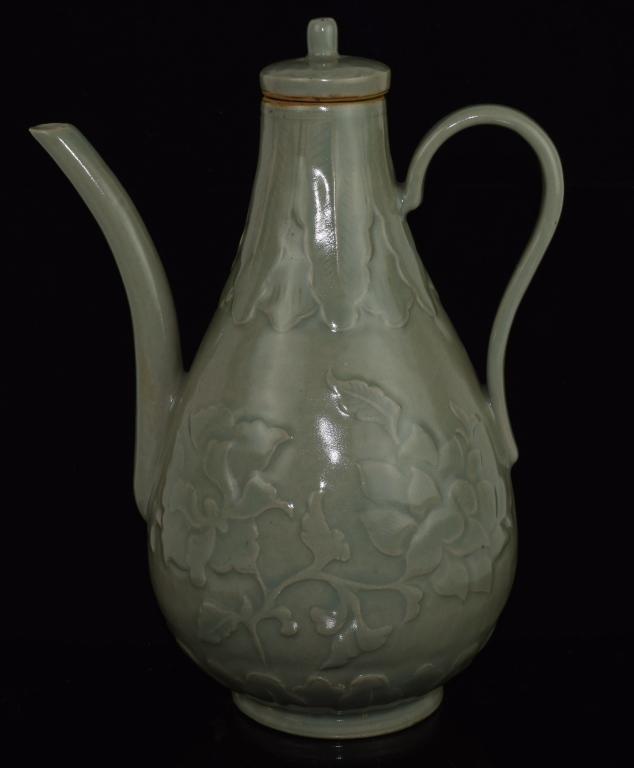 Chinese Celadon Porcelain Ewer