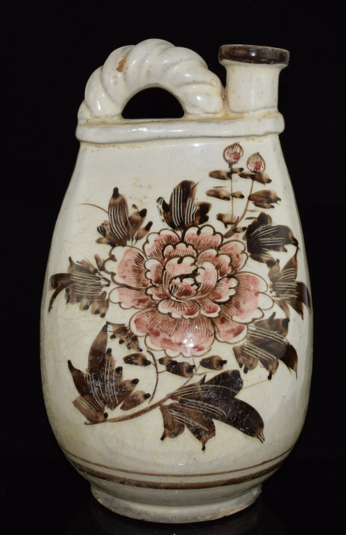 Chinese Cizhou Ware flask