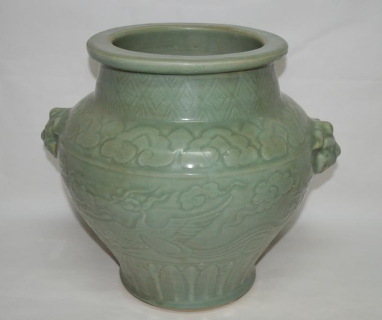 Chinese Longquan Porcelain Vase