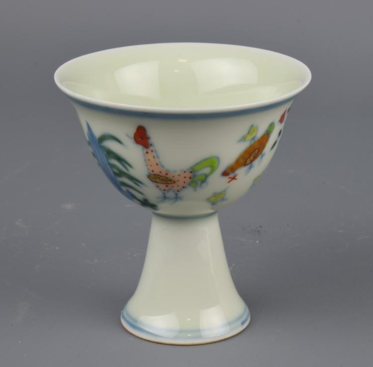 Chinese Chicken Stem Cup