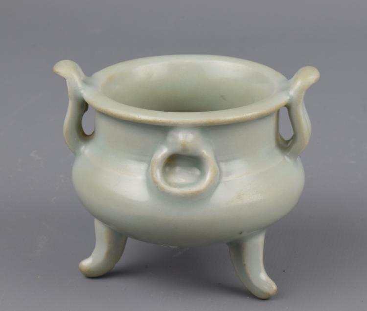 Chinese Longquan Glazed Incense Burner
