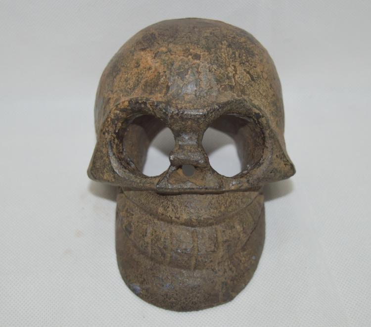 Black Jade Skull