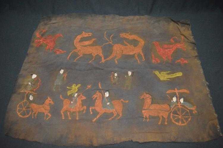 Ancient Silk Painting