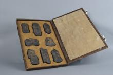 Seven Pieces of Ink Stone