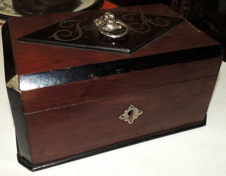 BOX WITH INITIALS
