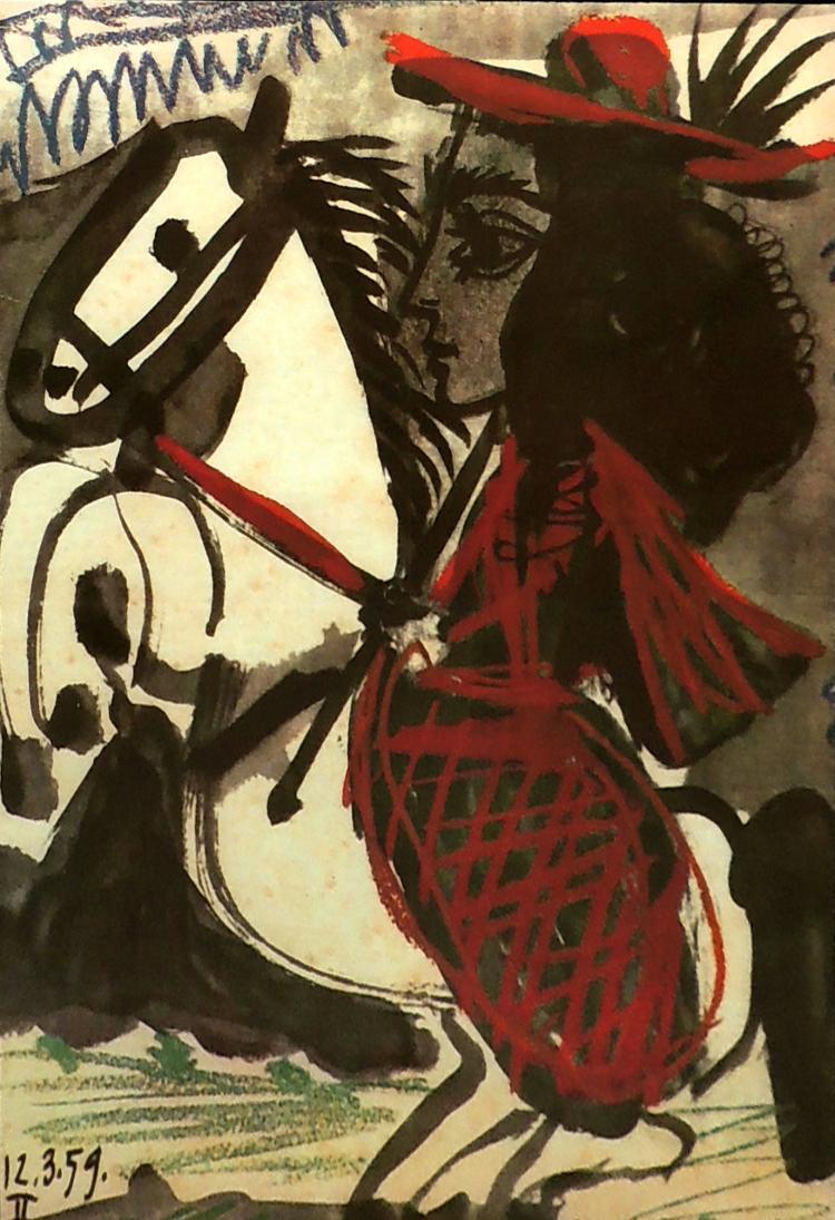 PABLO PICASSO lithograph,