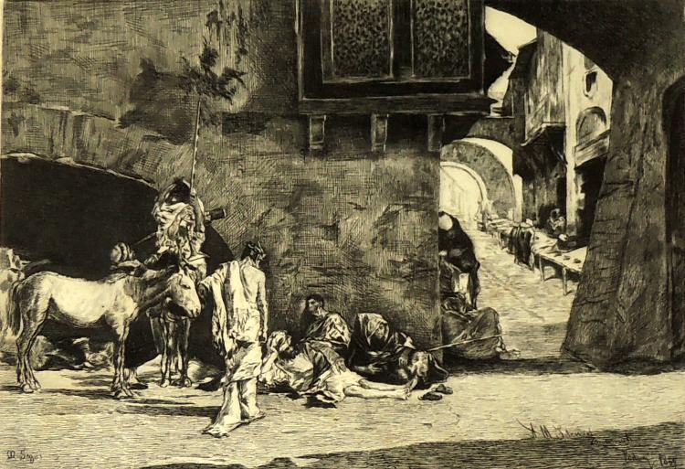 FORTUNY engraving,
