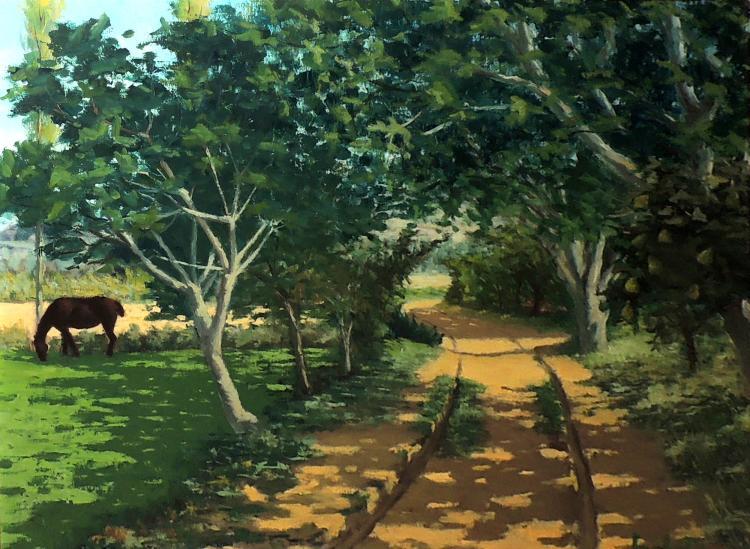 JOAN BARBETA oil on canvas,