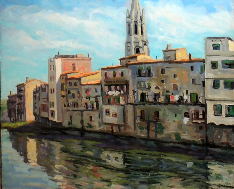 ROTLLÁN oil on canvas,