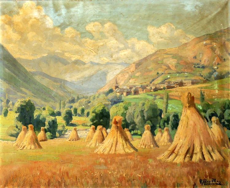 RAMÓN MAS I MAS oil on canvas,