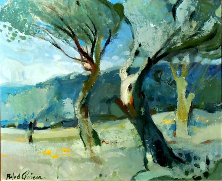 RAFAEL GRIERA oil on canvas,