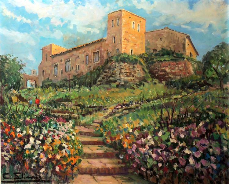 CAMIL LLIMÓS oil on canvas,