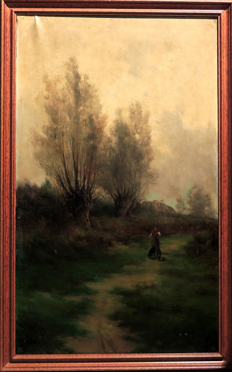 ROMUL FREIXAS oil on canvas,