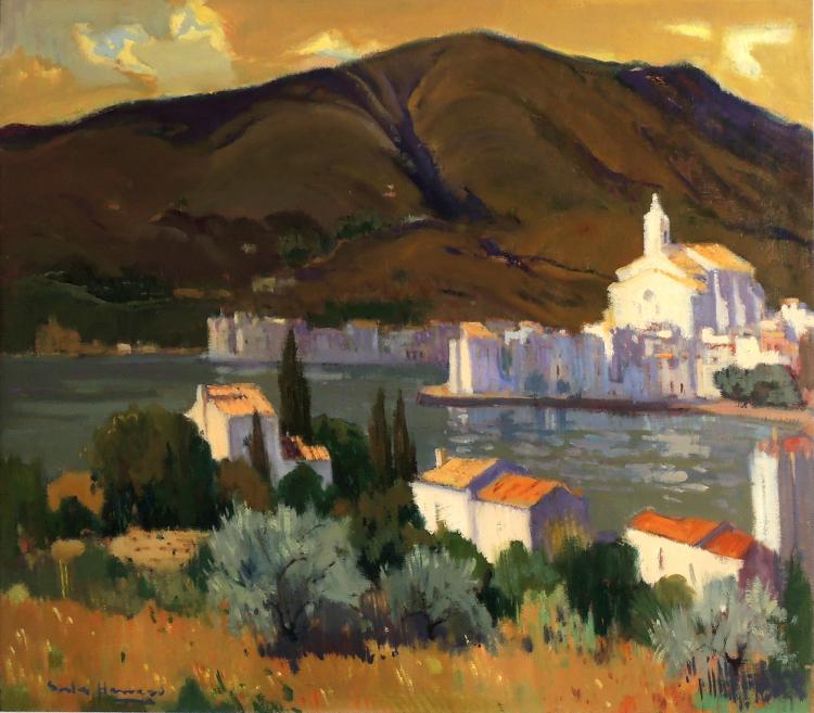 ANTONI SALA HERRERO oil on canvas,