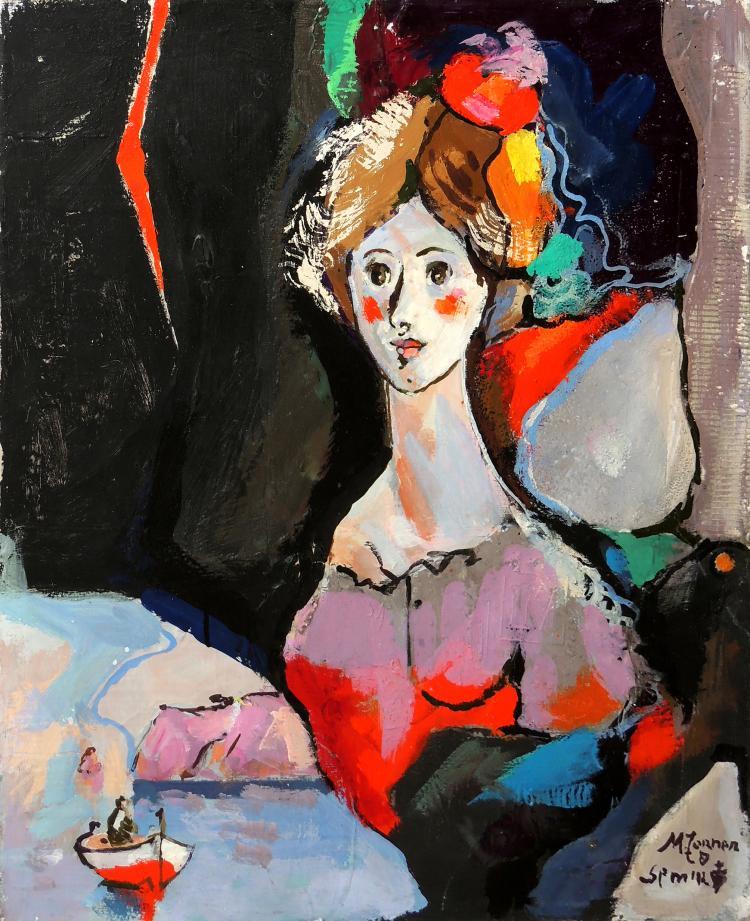 TORNER DE SEMIR oil on canvas,