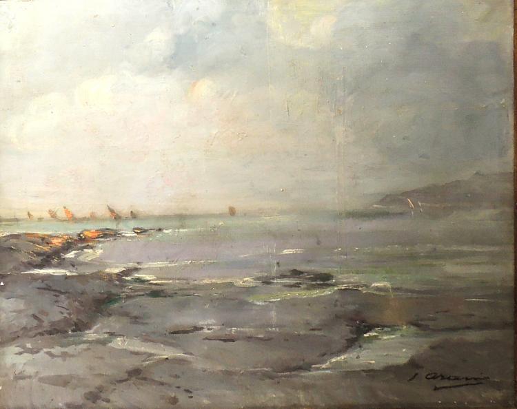 JOAQUÍN ASENSIO oil on canvas,