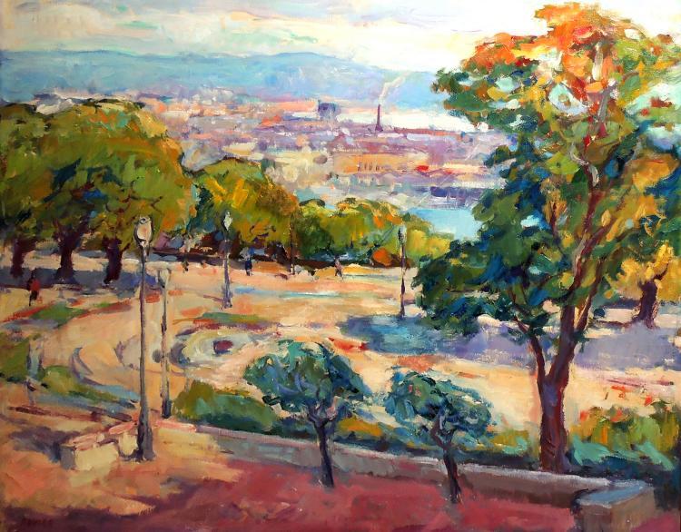 ROVIRA oil on canvas,