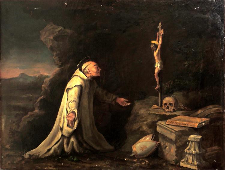 ANONYMOUS S.XVIII-XIX oil on canvas,