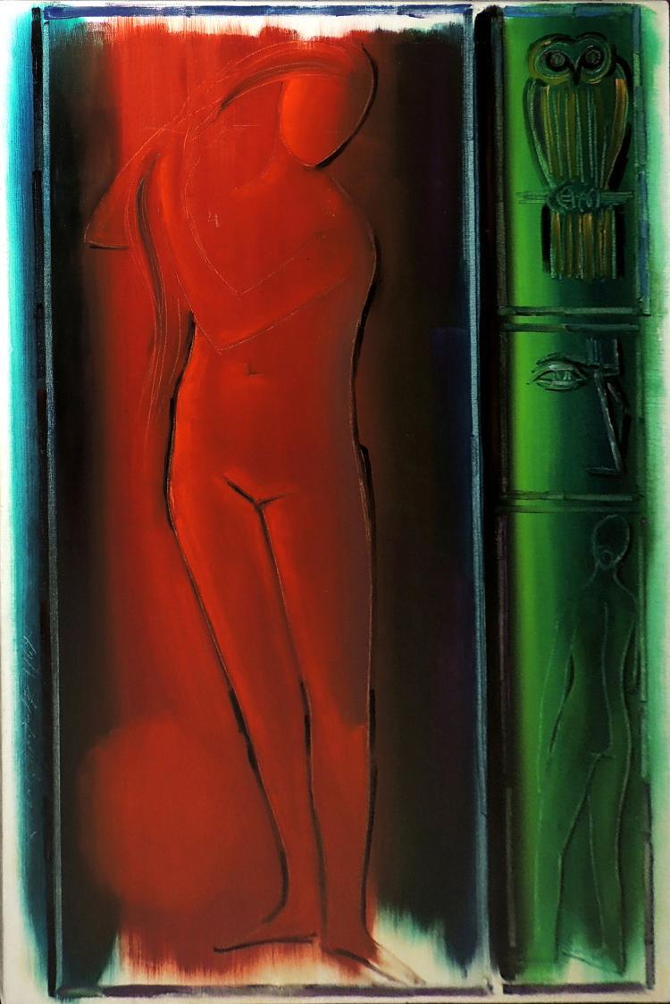 ROBERTA GONZALEZ oil on canvas,