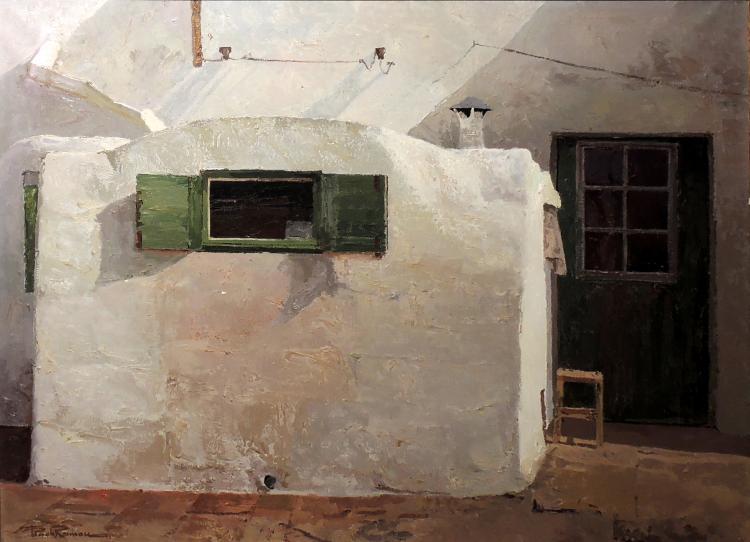 FRANCESCH POCH ROMEU oil on canvas,