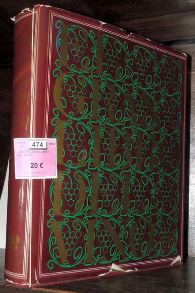 EL GRAN LIBRO DEL VINO' BOOK
