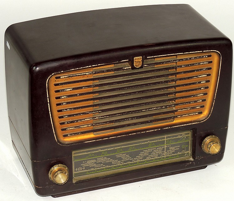 Philips old radio for Classic house radio