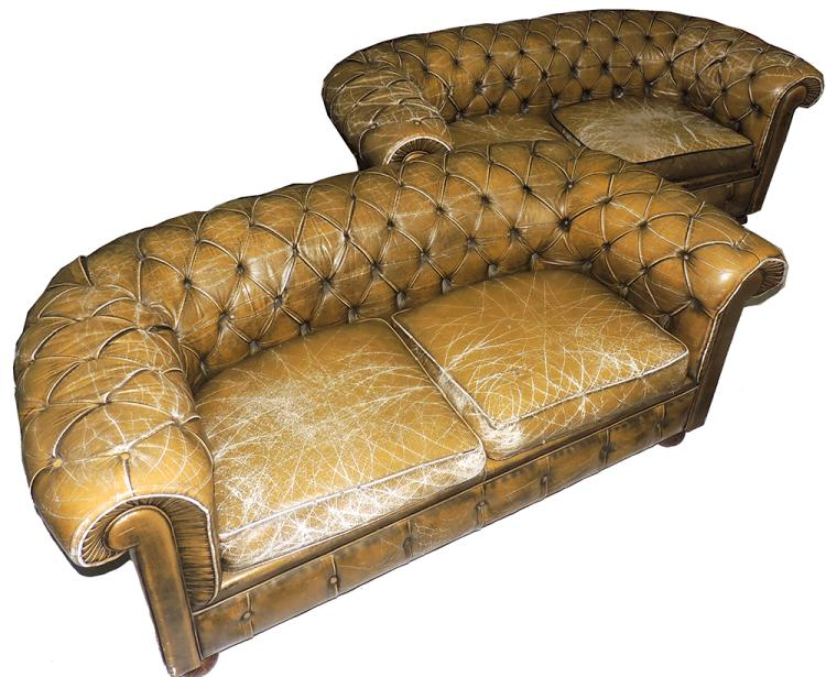 Pair of chester sofas - Sofa chester barcelona ...
