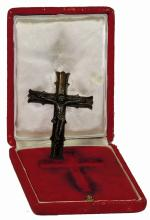 SILVER CRUCIFIED CHRIST FIGURINE