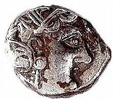 EMPIRE OF ALEXANDER THE GREAT MAZAKES SATRAP OF MESOPOTAMIA  331–322 BCE Silver tetradrach