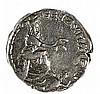 TRAJAN, 98 – 117 CE Silver tetradrachm, 14.6 gr. Mint of Tyre. Obverse: Bust of Trajan to r. su