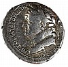 VESPASIAN, 69 – 79 CE Silver Tetradrachm, 14.9 gr. Mint of Cappadocia. Obverse: Head of Vespasi