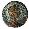 GAZA ANTONINUS PIUS, 138 – 161 CE Bronze  29.5 mm. Obverse: Bust of Pius to r. Reverse: Bu