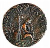 VESPASIANUS, 69 – 79 CE JUDAEA CAPTA Bronze As 27 mm. Obverse: Bust of Vespasianus to r. R