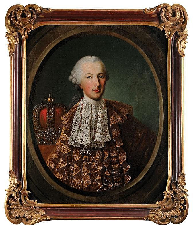 MATRIMONIAL PORTRAITS OF JOSEPH II, ARCHDUKE OF AUSTRIA, AND MARIA ISABELLA, PRINCESS OF PARMA