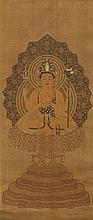 UEDA TOSA KEIHI (17TH CENTURY) FUKUKENJAKU KANNON