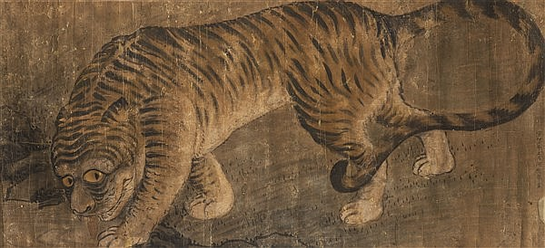 TIGER IN THE STYLE OF MURUYAMA ÔKYO
