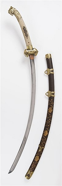 A CEREMONIAL SWORD TORIKUBI NO TACHI