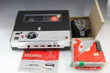 National tape recorder RQ-1525 in original box + accessories