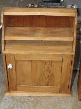 Small pine shaving cabinet