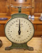 Green Salter kitchen scales