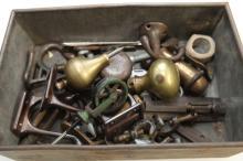 Box of various metal fittings