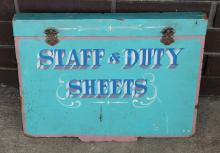 Wooden Staff and Duty Sheet cover