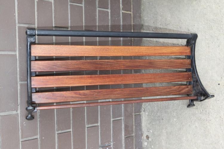 NSWTD luggage rack original wooden slats c1920s
