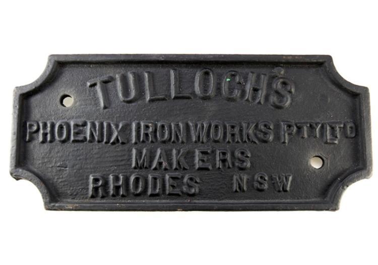 Tullochs Phoenix Ironworks Rhodes NSW