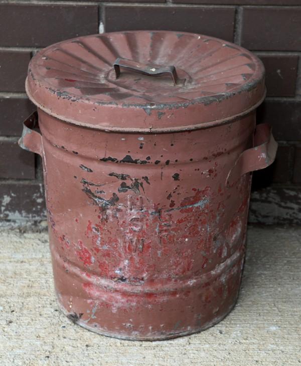NSWGR embossed garbage bin