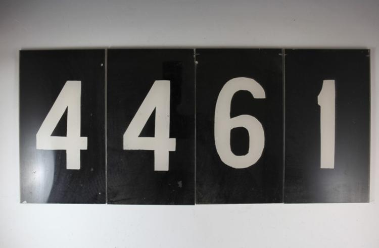 NSWR class 44 ID numbers #4461