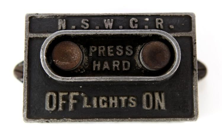 NSWGR lights on off carriage switch